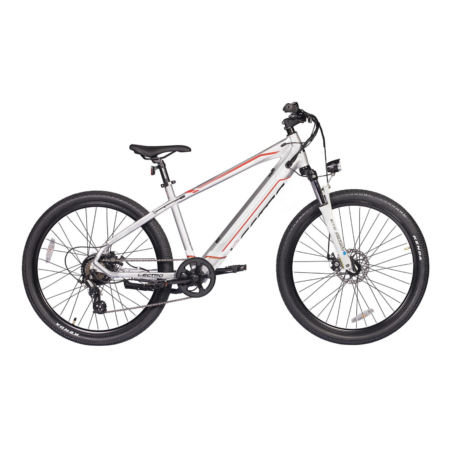 Lectro peak electric mountain bike side view